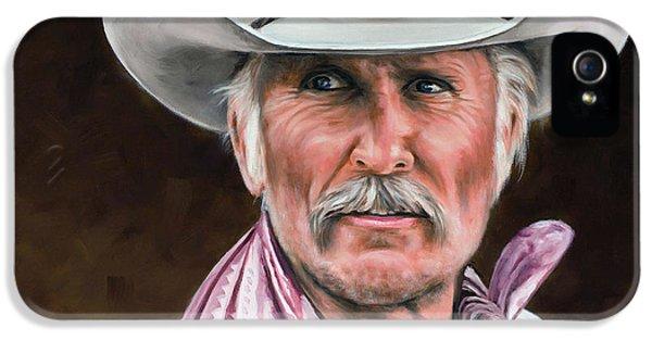 Dove iPhone 5 Case - Gus Mccrae Texas Ranger by Rick McKinney