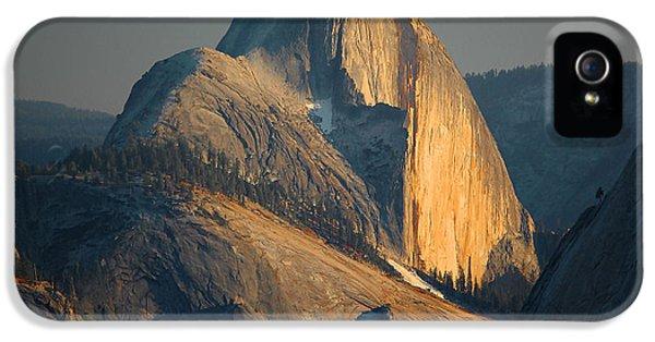 Half Dome At Sunset - Yosemite IPhone 5 Case