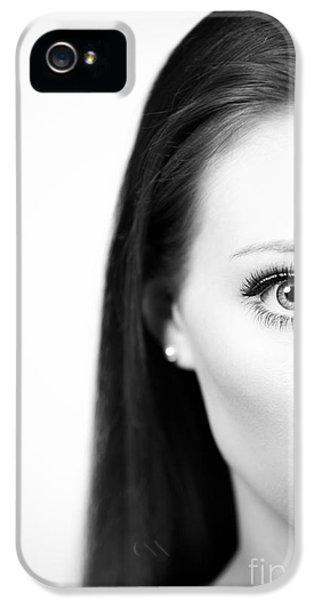 Half Face IPhone 5 Case by Amanda Elwell