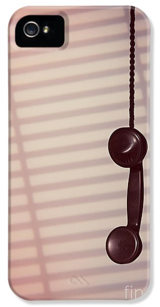 Hanging Phone Receiver IPhone 5 Case by Amanda Elwell