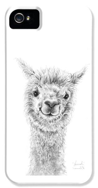 Llama iPhone 5 Case - Hannah by K Llamas