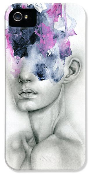Portraits iPhone 5 Case - Harbinger by Patricia Ariel