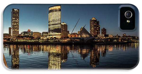 IPhone 5 Case featuring the photograph Harbor House View by Randy Scherkenbach