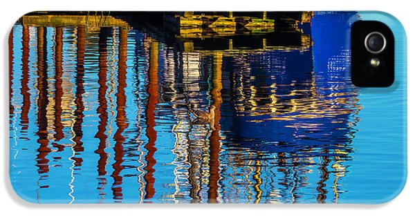 Harbor Reflections IPhone 5 Case by Garry Gay