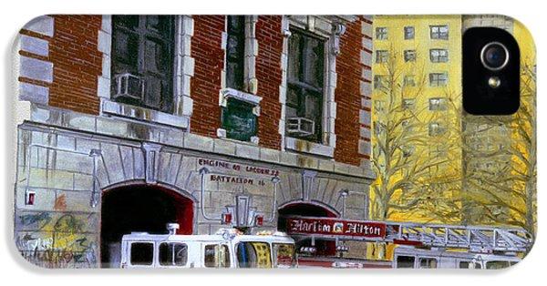 Harlem Hilton IPhone 5 / 5s Case by Paul Walsh
