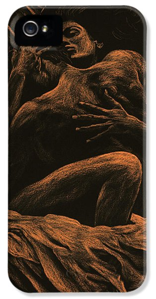 Nudes iPhone 5 Case - Harmony by Richard Young