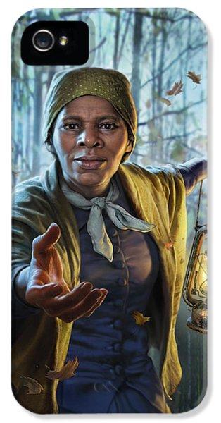 Train iPhone 5 Case - Harriet Tubman by Mark Fredrickson