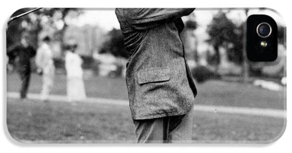 Harry Vardon - Golfer IPhone 5 / 5s Case by International  Images
