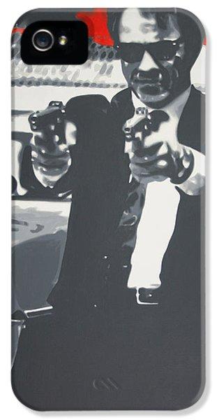 Mr White IPhone 5 Case by Luis Ludzska