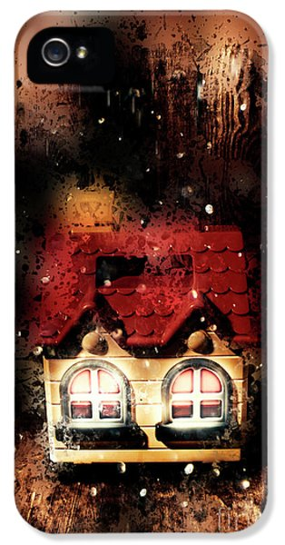 Haunted Doll House IPhone 5 Case by Jorgo Photography - Wall Art Gallery