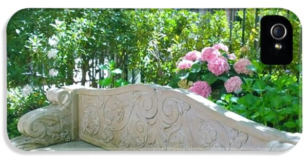 Have A Seat In My Secret Garden. #patio IPhone 5 Case