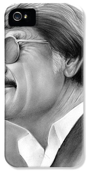 Hayden Fry IPhone 5 Case by Greg Joens