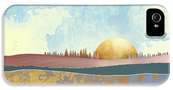 Landscape iPhone 5 Case - Hazy Afternoon by Katherine Smit