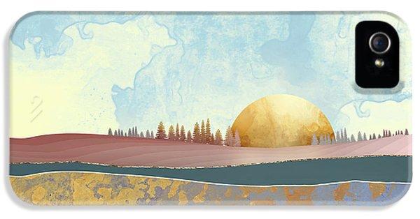 Landscape iPhone 5 Case - Hazy Afternoon by Katherine Smit