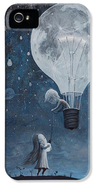 He Gave Me The Brightest Star IPhone 5 Case by Adrian Borda