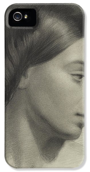 Head Of A Girl IPhone 5 Case by Anonymous