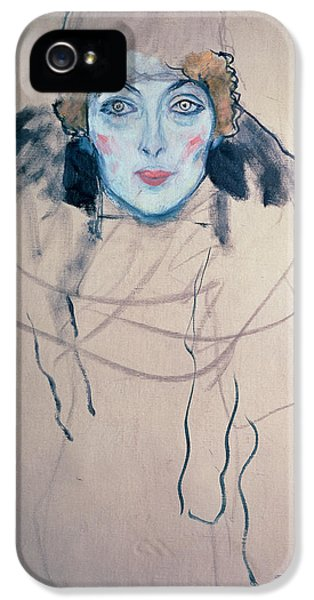 Head Of A Woman IPhone 5 Case