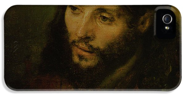 Head Of Christ IPhone 5 Case by Rembrandt