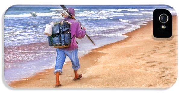 Heading Home - Ocean Fisherman IPhone 5 Case by Nikolyn McDonald