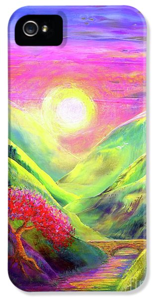 Healing Light IPhone 5 / 5s Case by Jane Small
