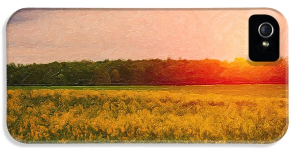 Rural Scenes iPhone 5 Case - Heartland Glow by Tom Mc Nemar
