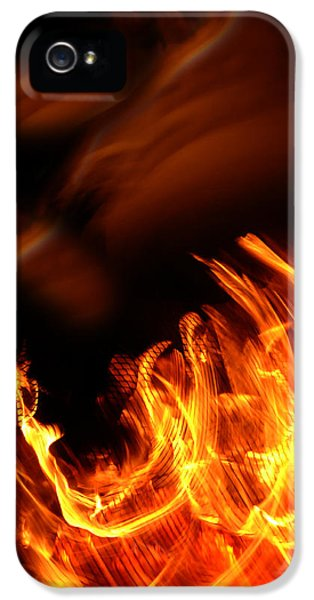 Heavenly Flame IPhone 5 Case by Donna Blackhall