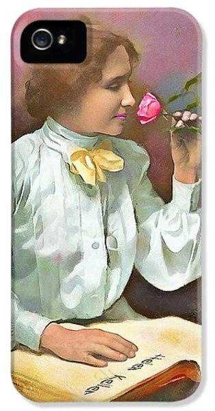 Helen Keller - 2 IPhone 5 Case