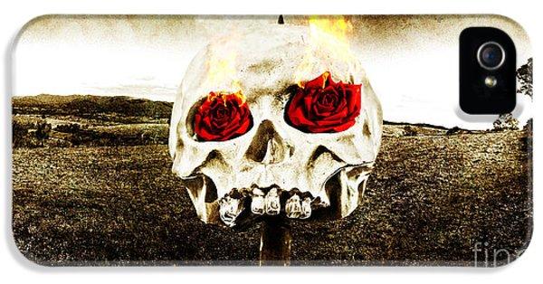 Hellfire Of Love IPhone 5 Case