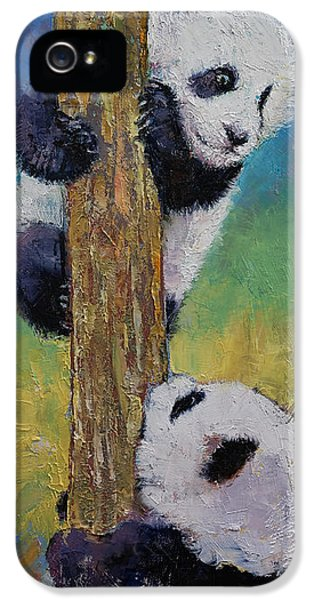 Hello IPhone 5 Case by Michael Creese
