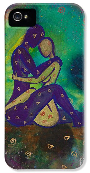 Her Loves Embrace Divine Love Series No. 1006 IPhone 5 Case