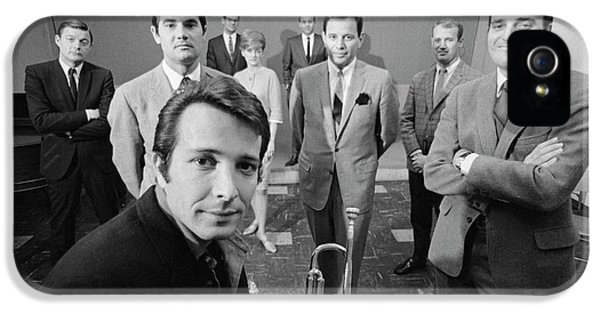 Gil iPhone 5 Case - Herb Alpert, Gil Friesen, And Jerry Moss by The Harrington Collection