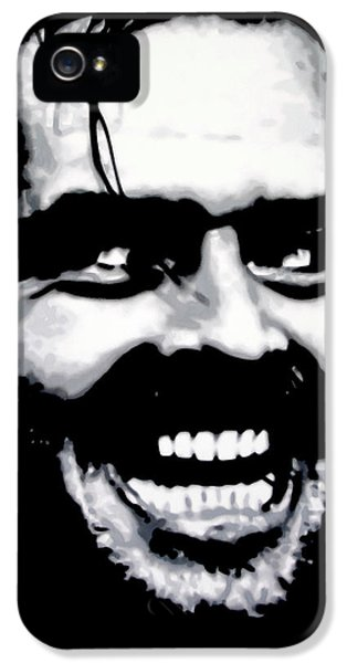 Jack Nicholson iPhone 5 Case - Heres Johnny by Hood alias Ludzska