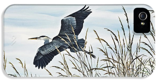 Herons Flight IPhone 5 Case by James Williamson