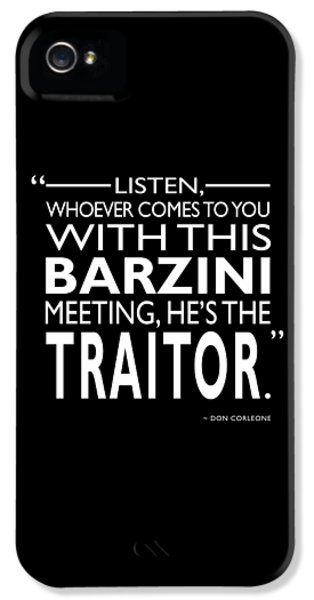 Hes The Traitor IPhone 5 Case by Mark Rogan