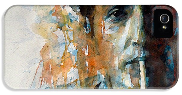 Hey Mr Tambourine Man @ Full Composition IPhone 5 Case by Paul Lovering