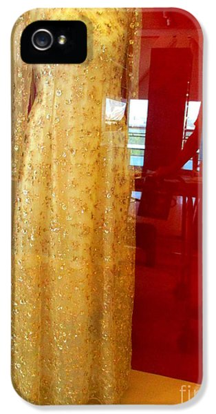 Hillary Clinton State Dinner Gown IPhone 5 Case by Randall Weidner