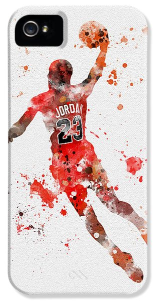 His Airness IPhone 5 Case by Rebecca Jenkins