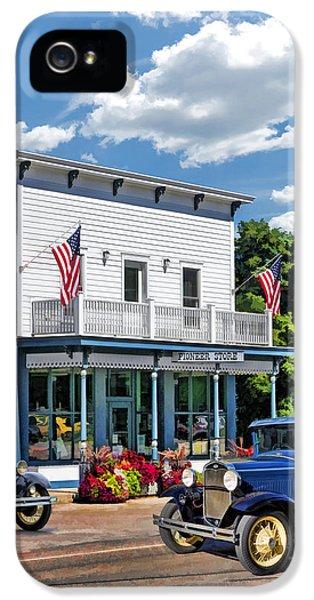 Historic Pioneer Store In Ellison Bay Door County IPhone 5 Case by Christopher Arndt