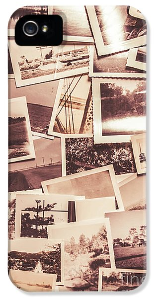 History In Still Photographs IPhone 5 Case