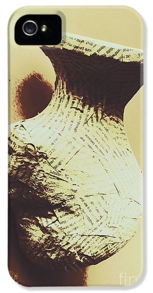 Damage iPhone 5 Case - History Is Written By The Victors by Jorgo Photography - Wall Art Gallery