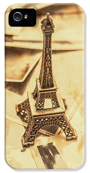 French iPhone 5 Case - Holiday Nostalgia In Vintage France by Jorgo Photography - Wall Art Gallery