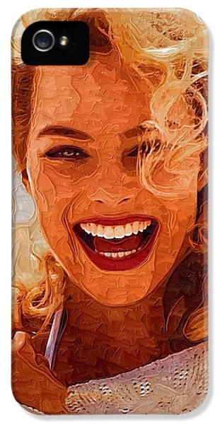 Hollywood Star Margot Robbie IPhone 5 / 5s Case by Best Actors