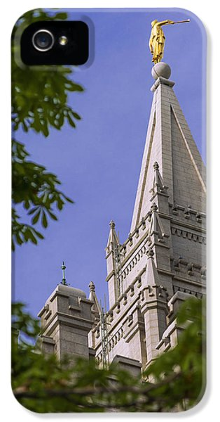 Holy Temple IPhone 5 Case by Chad Dutson