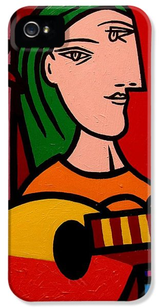 Homage To Picasso IPhone 5 Case
