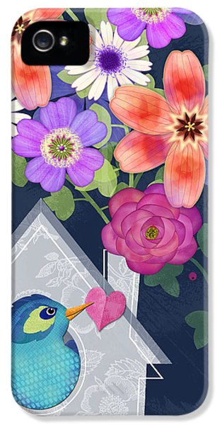 Home Is Where You Bloom IPhone 5 Case