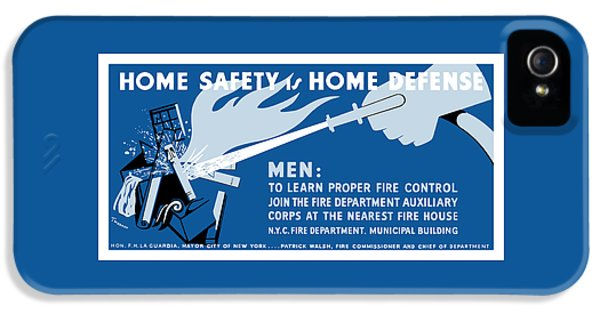 Home Safety Is Home Defense IPhone 5 Case