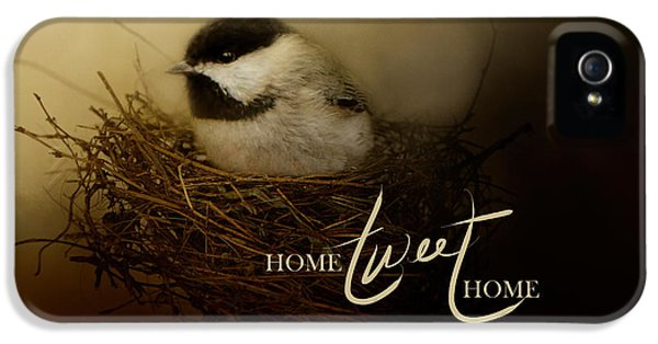 Home Tweet Home With Words IPhone 5 / 5s Case by Jai Johnson