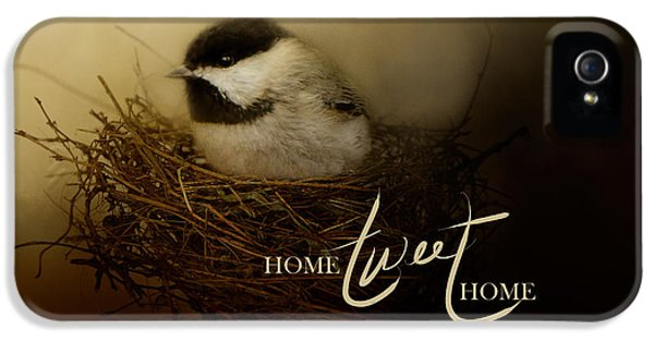 Home Tweet Home With Words IPhone 5 Case