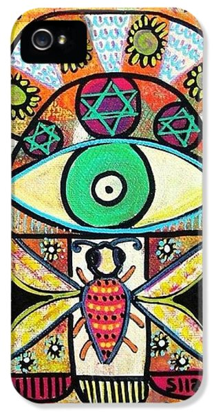 Honey Bee Hamsa IPhone 5 Case