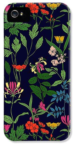 Honeysuckle Floral IPhone 5 Case